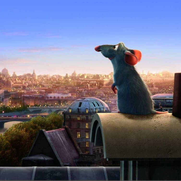 Ratatouille: Remi Steals The Documents